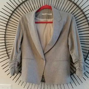 Gibson light linen type blazer